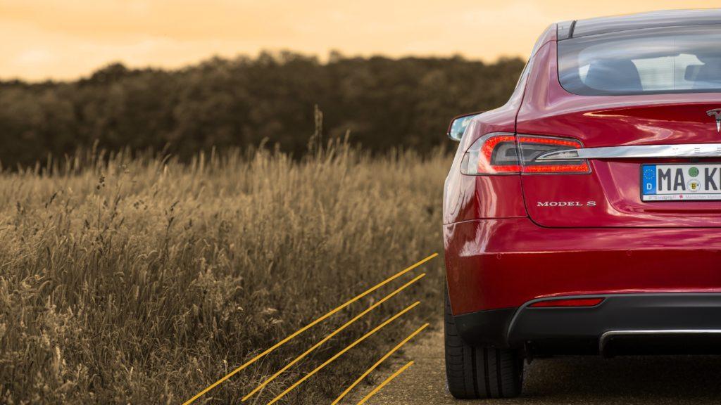 Bild eines Tesla Model S