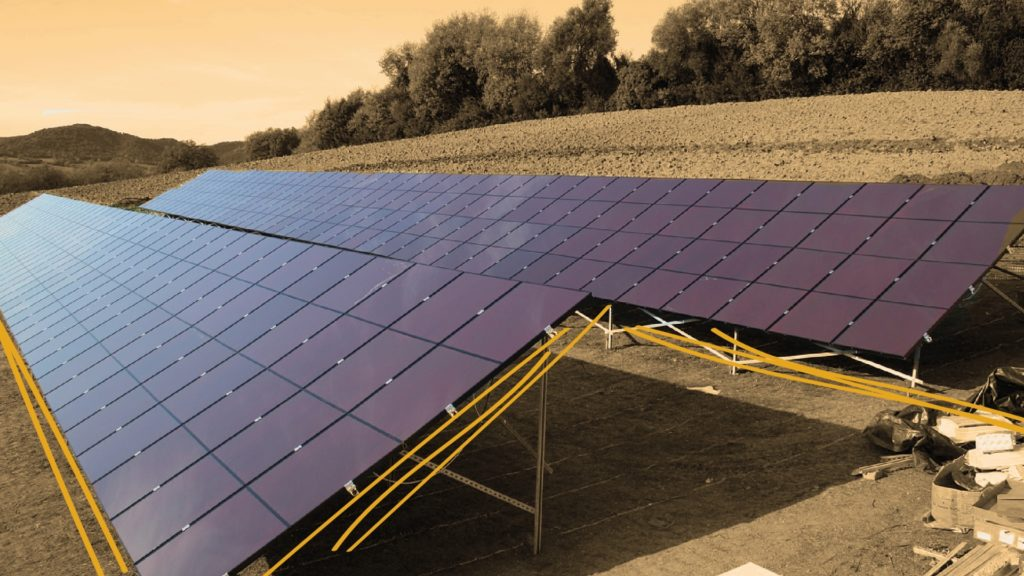 Bild einer Fotovoltaikanlage