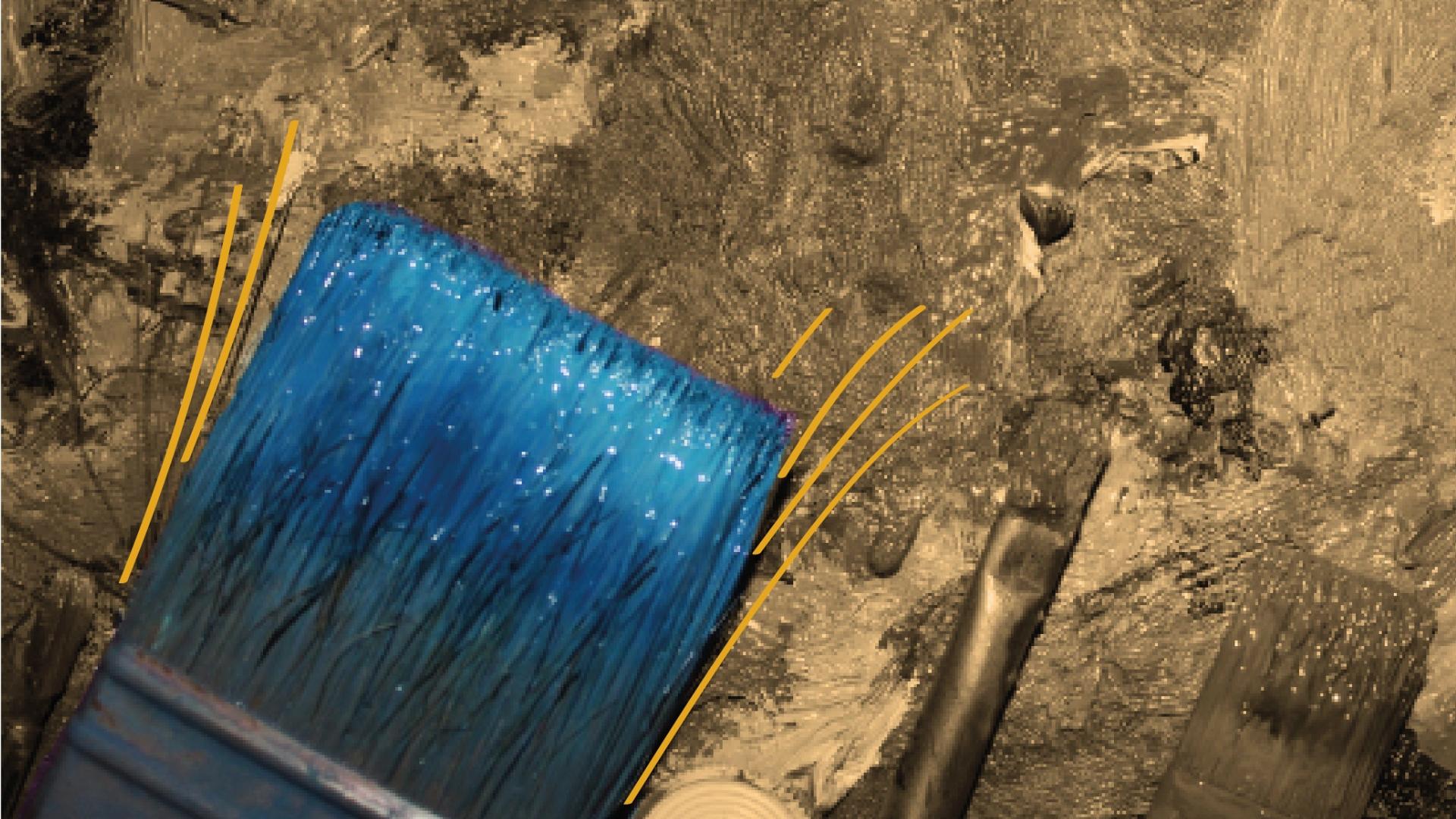 Bild eines Pinsels